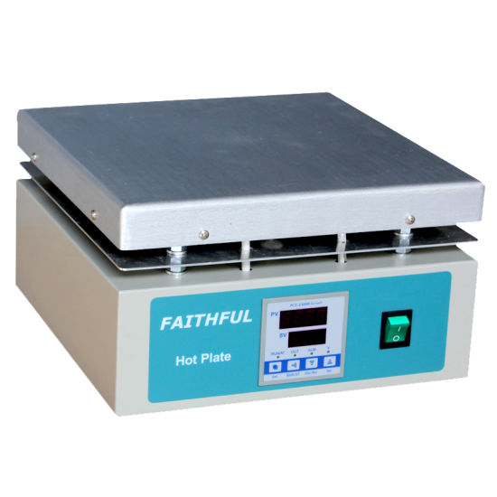 350 Degree Hot Plate with LCD Screen Digital Type; Aluminum Heating Plate pictures & photos