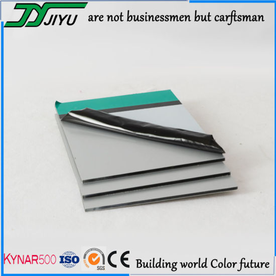 PVDF Coating Aluminum Plastic Composite Panel for Outside Building Wall Decorative