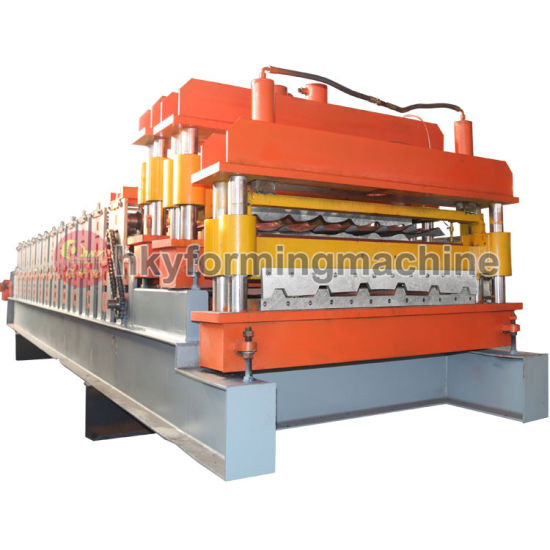 Roofing Sheet Machine Building Material Machinery, Metal Roofing Roll Forming Machine