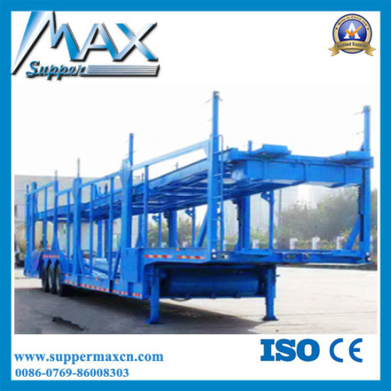 Heavy Duty 11 Car Transporter Trailer for Car Carrying Trailer Cars Trucks pictures & photos