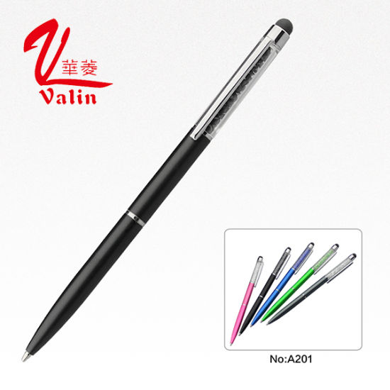 Promotional Items Pen Slim Crystal Ballpoint Pen on Sell pictures & photos