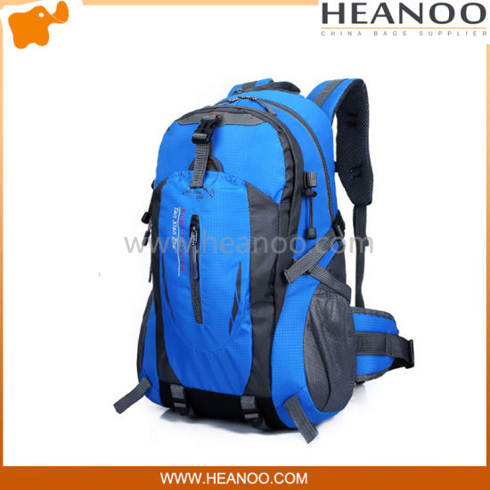 60L Travel Backpack Outdoor Mountaineering Bag Outdoor Backpack Large Capacity 45L Color : Blue, Size : 60L