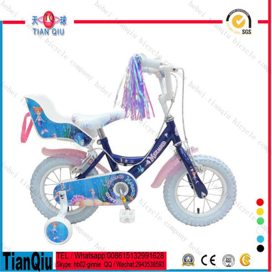 2016 Hebei Factory Direct Supply TIG Welding Children Bicycle Baby Toys 12 Inch Kids Bike Toy with Assist Wheel pictures & photos