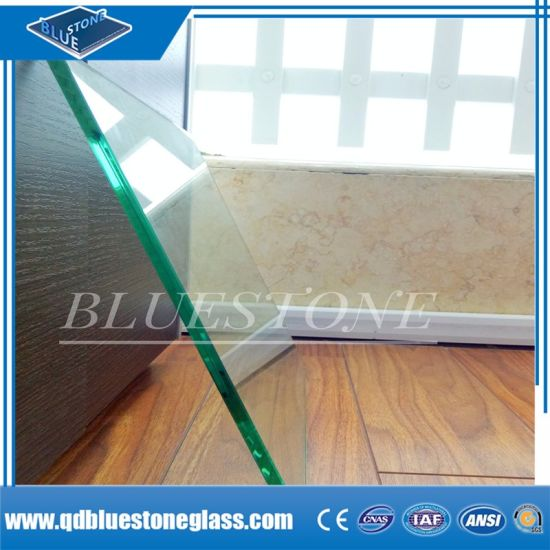 Building Glass 3+3mm 4+4mm Safety Laminated Glass Factory with Ce&ISO