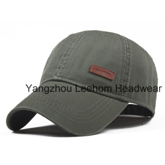 Heavy Washed 3D Embroidery Baseball Cap pictures & photos