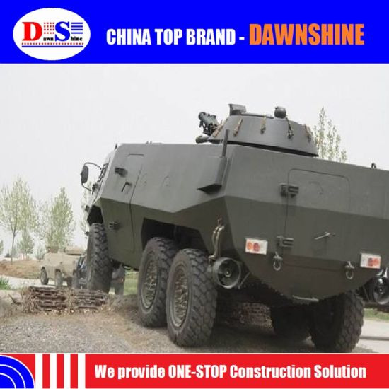 Widely Used 6*6 Wheeled Armored Vehicle Multifunctional Armored Vehicle