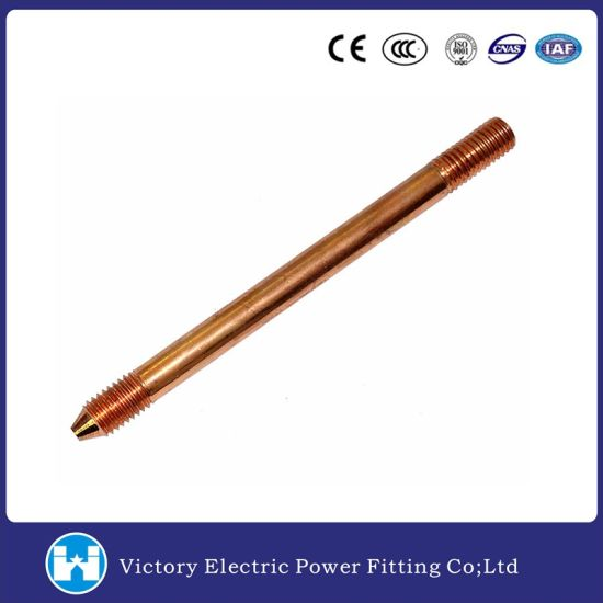 Copper Clad Stainless Steel Copper Weld Steel Ground Rods/Earth Rods