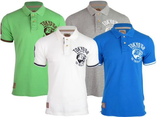 China loose fit men s cotton pique polo shirts with custom for High quality embroidered polo shirts