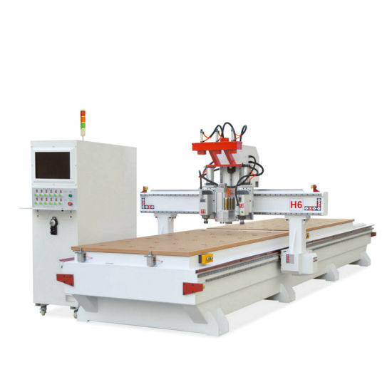 Double Woodworking Table CNC Router Machine pictures & photos