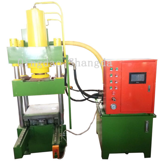 Carton Package Embossing Stamping Hydraulic Press Machine