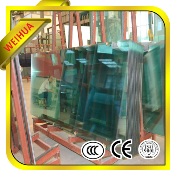 Colored Safety Laminated Glass with CE / ISO9001 / CCC on Promotion Factory pictures & photos