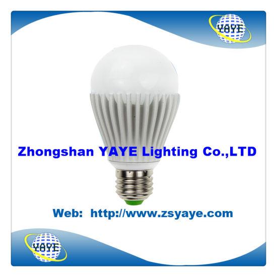 Yaye CE/RoHS Approval SMD5730 E27 12W LED Bulb/ E27 LED Bulb Lamp with USD4.86/PC (YAYE-GDLB12WA)