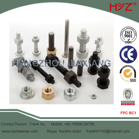 Zinc or Electronic Galvanized Bolt ASTM A325 Type 1