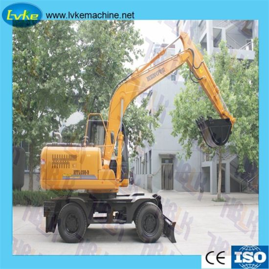 Hot Sale 9ton Hydraulic Wheel Crawler Hydraulic Excavator Bucket/Clipping Plier/ Break Hammer pictures & photos
