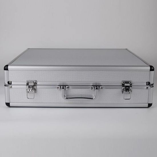 Handle Style Easy Carry Silver ABS Aluminum Tool Case (KeLi-TOOL-2021)