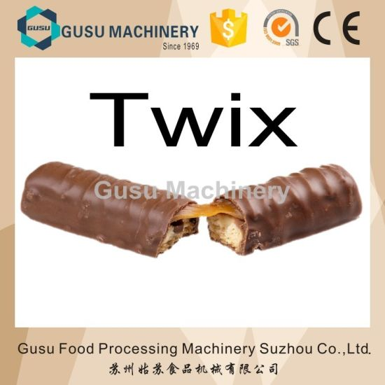 China Ce Snack Food Machine Automatic Twix Bar Forming Cutting Line