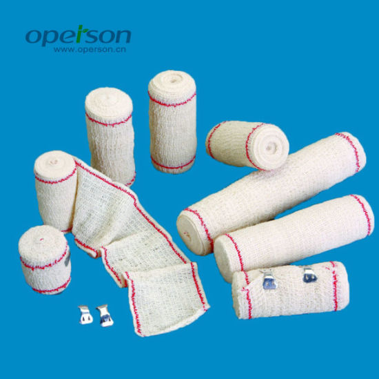 Ce Approved Elastic Crepe Bandage with Various Sizes pictures & photos
