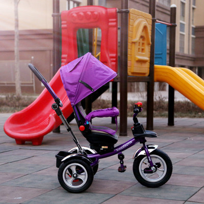 2016 Kids Tricycle Rotating Seat with Push Bar