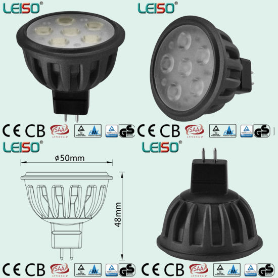 Standard Size 500lm MR16 LED Spotlight (LS-S505-MR16-NWW/NW) pictures & photos