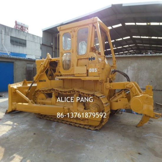 Good Performance Japan Komatsu D85-18 Used Bulldozer with Ripper pictures & photos
