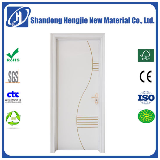 Good Quality and Competitive Price No Formaldehyde Fire Rated Door pictures & photos