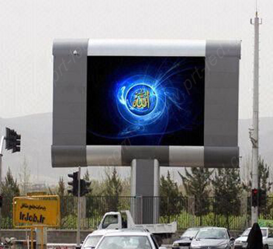 SMD3535 Full Color Outdoor LED Display with High Brightness (P8, P10)