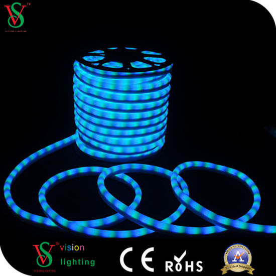 china 24v christmas outdoor decoration white led neon flex rope