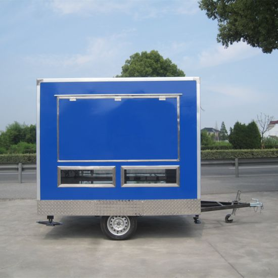 Mobile Breakfast Food Carts for Sale, Food Vending Truck Jy-B18