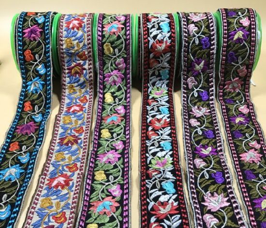 National Style embroidery Ribbon for DIY and Decoration