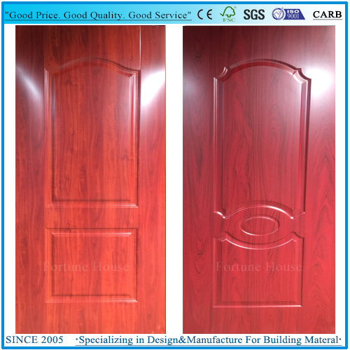 New Design Decorative Interior/Exterior HDF Melamine Door Skin pictures & photos