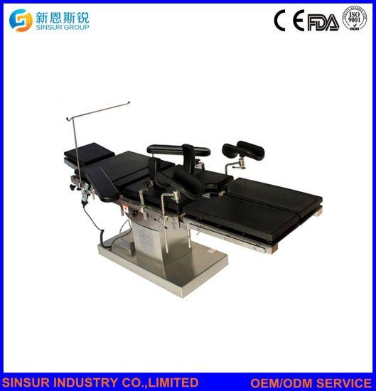 China C Arm Compatible Radiolucent Hospital Ot Medical Electric