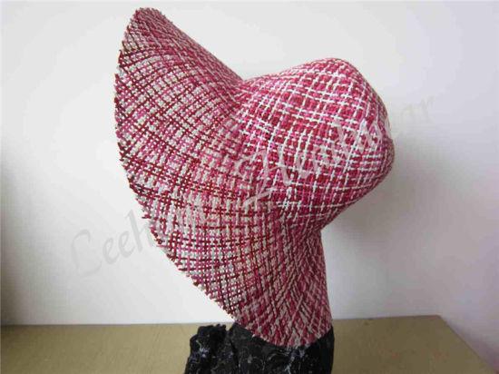 Leisure Lady Bucket Sun Straw Hat