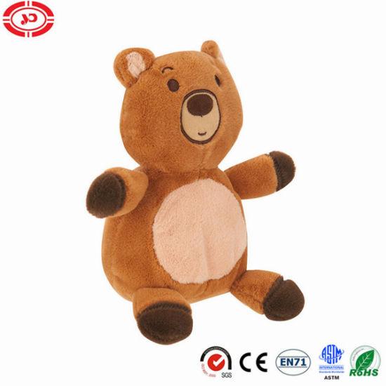Huggable Friends Bear Brown Plush Soft Toy 10inch