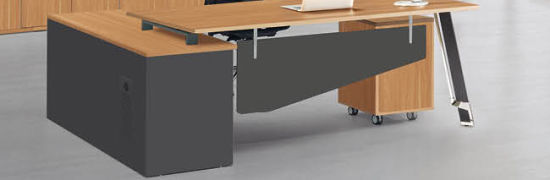 office working table contemporary new design office staff computer table wooden lshape working desk china