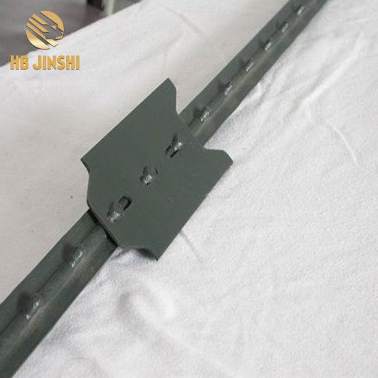 China 133lb FT 6FT Green Powder Coated T Post