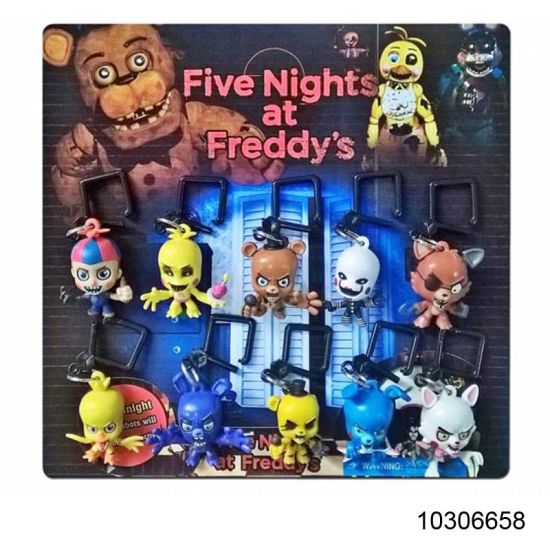 Cartoon Toys 2.2 Inch Five Nights at Freddy′s Key Chain with More Styles (10306658) pictures & photos