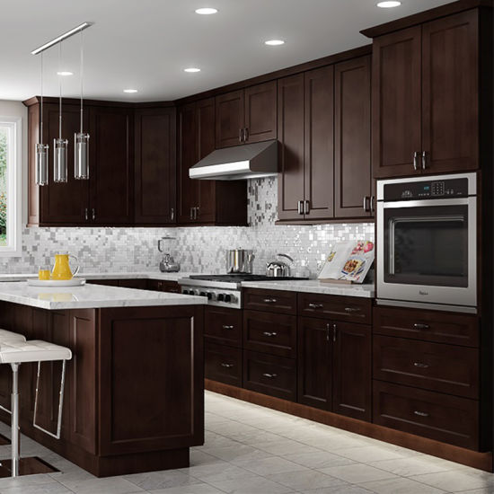 Solid Wood Maple Kitchen Cabinet