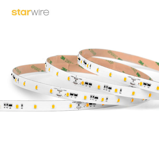 Energy Saving 20m SMD3528 4.8W/M Constant Current Flexible LED Strip pictures & photos