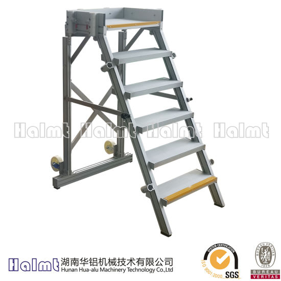China Wholesale Industrial Aluminum Folding Ladder