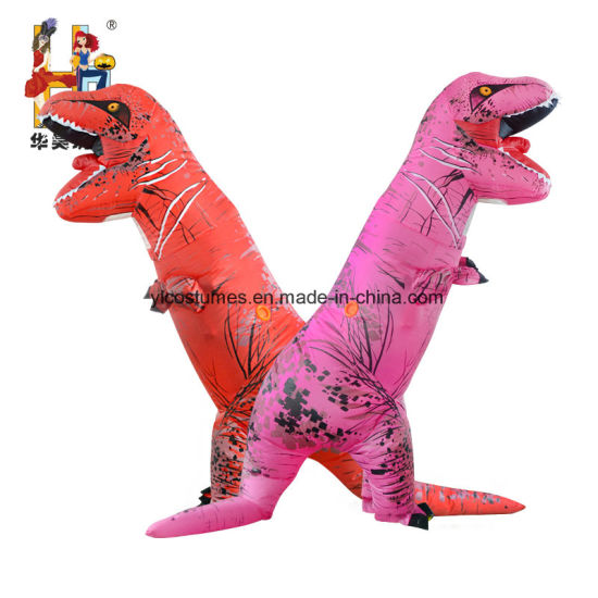 funny inflatable t rex costume inflatable dinosaur costume for halloween party