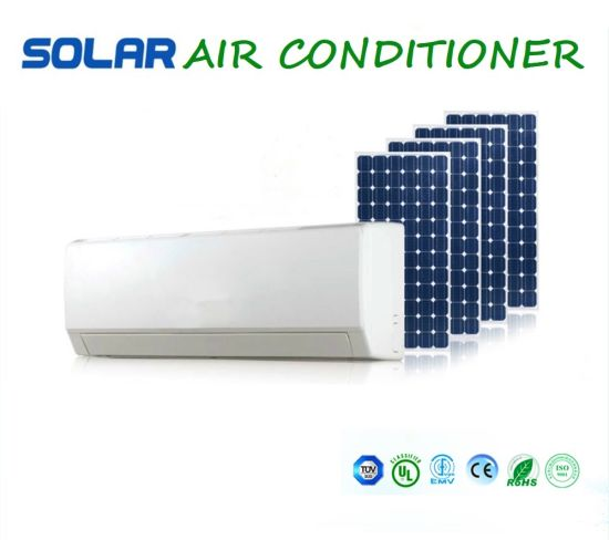 1.5ton/18000BTU/2HP Split Solar Air Conditioner Full Set System with Solar Panels and Batteries Working for 24 Hours pictures & photos
