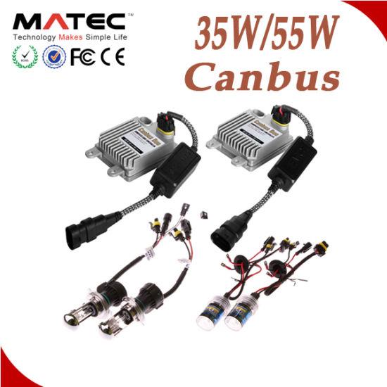 China 100% AC Universal Car HID Conversion Kit H1 H3 H4 H7
