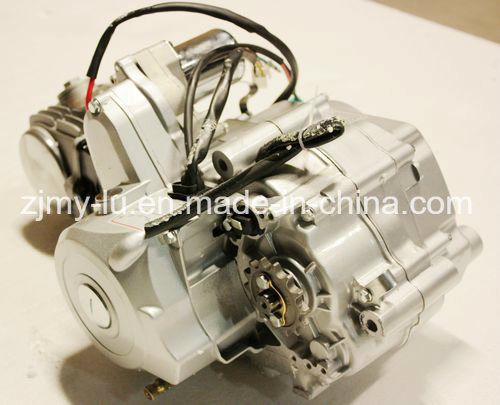 Bt 110cc 4 Gear Electric +Kick Start Manual Engine Motor Pit PRO Trail Dirt Bike pictures & photos