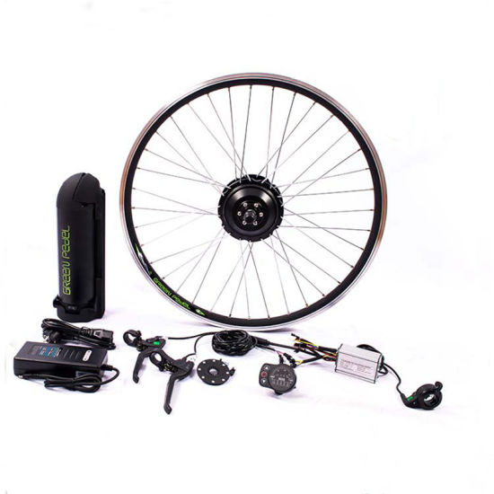 China Greenpedel Electric Bike Motor Kit With Hub Motor Display