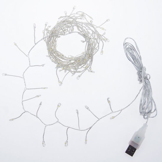 Colorful Firecracker LED Copper Wire String Light with USB Charging pictures & photos