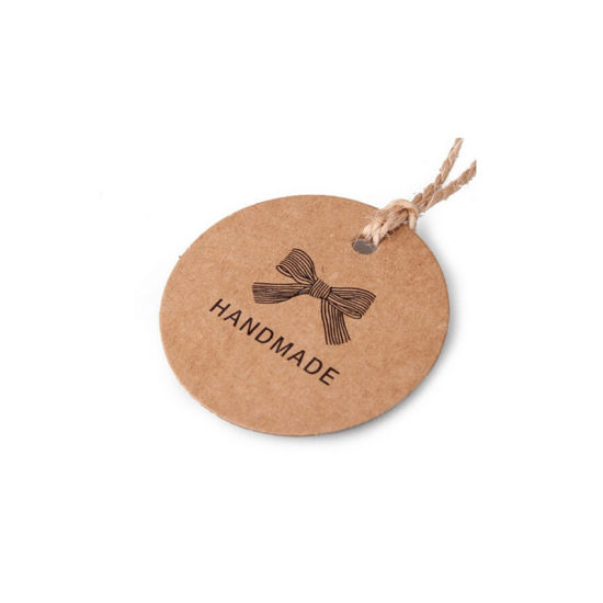 Classic Garment Brown Kraft Paper Hang Tag