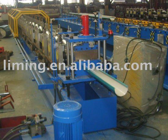 Xiamen Liming Water Trough Half Round Gutter Making Machine