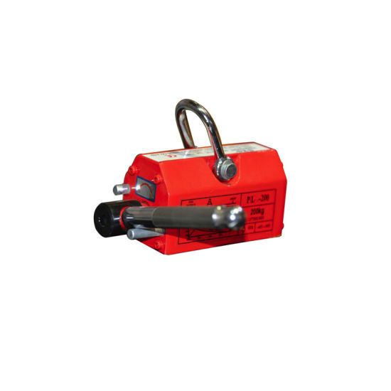 Handling Steel Plates Magnetic Lifter Permanent Lifting Magnet Manual Control