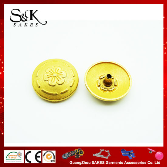 Curved Shape High Quality Metal Snap Button