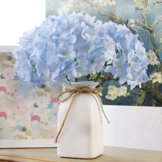 Silk Hydrangea Artificial Flowers for Wedding/Home Decoration